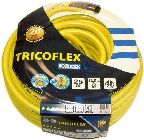 [Amazon Prime]  Tricoflex 00110212 Wasserschlauch 1/2 Zoll 25 m Rolle gelb für 5,90€