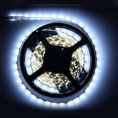 5M White 3528 SMD 300 LED Strip Light Wasserfest