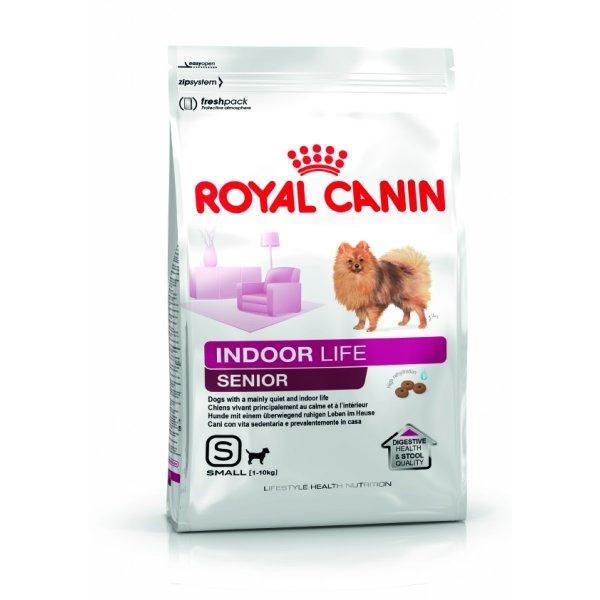Royal Canin INDOOR Life Senior Small Dog 0,5kg für 1,99 € statt 6,49 € oder 3kg für 10,99 €, versandkostenfrei ab 15 € bei @Fressnapf