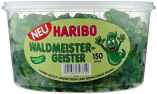 [Amazon Plus Produkt] Haribo Waldmeister-Geister, 1er Pack 150 Stück, 1,2 kg