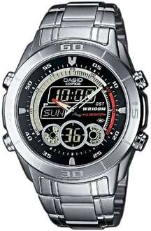 Casio Edifice Herren-Armbanduhr Analog-Digital Silber EFA-115D-1A1VEF @amazon Blitz