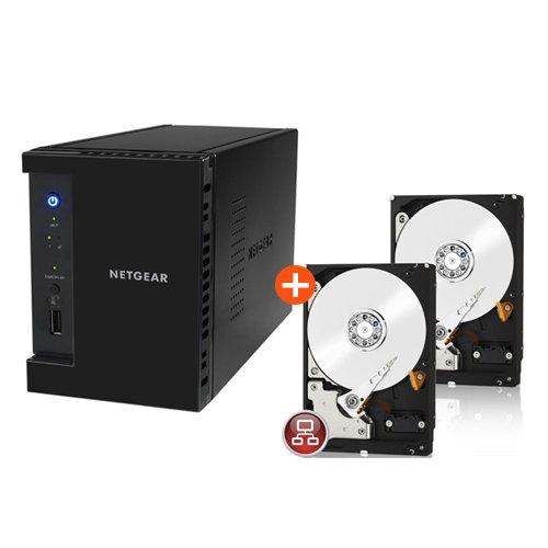 Netgear ReadyNAS 102 RN10200-EUS100 6TB Bundle [2x 3TB WD Red WD30EFRX] - 316,99€ inkl. Versand