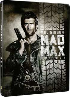 Mad Max – Trilogie (Steelbook) [Blu-ray] für 21,13€ @Amazon.es