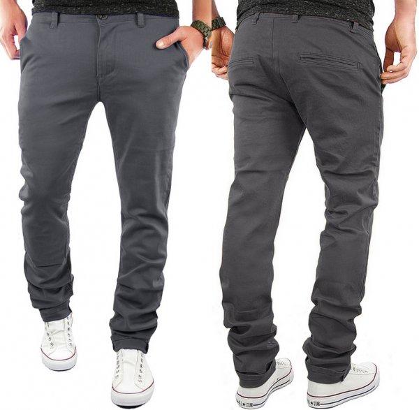 [ebay] WOW Angebot: Herren Chino Slim Fit Hose Jeans Trend 7 Farben Neu Merish 68