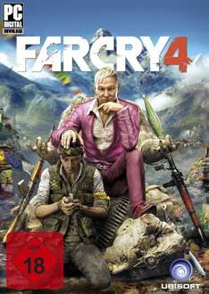 Far Cry 4 (PC-UPLAY) bei Gameliebe für 14,90