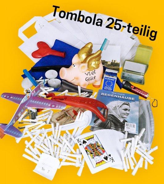 [ABGELAUFEN] AMAZON WHD - TOMBOLA - 25 Preise und Lose - inkl. 100 Tombola Lose und 25 statt 70€