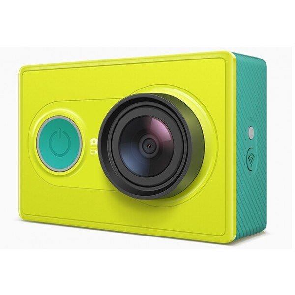 [Banggood CN] Xiaomi Yi Action Cam Basic in Grün und Weiß + Original Bluetooth Control + Original Monopod + Case für 109,75 €. Weitere Ersparnis möglich!