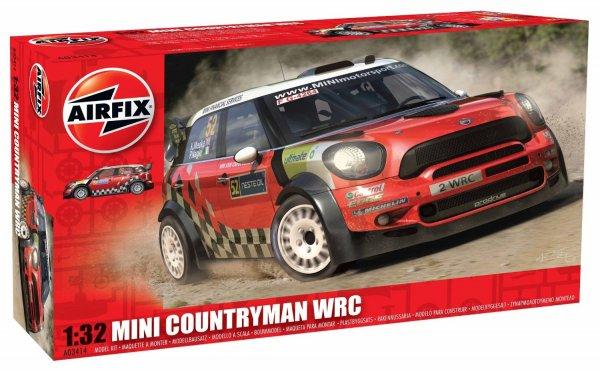 Airfix Mini Countryman WRC Modellbausatz für 5,90€ @Amazon.de (Prime)