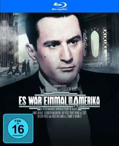 Es war einmal in Amerika (Extended Director's Cut & Extended Cut) (Blu-ray) für 9,83€ @JPC
