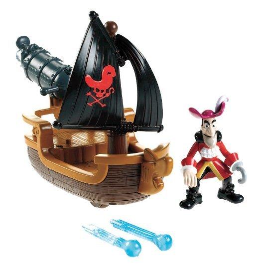 [Amazon-Prime] Mattel Fisher-Price  - Jake und die Nimmerland Piraten Hooks Kanonenboot