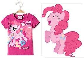 Pinkie Pie Mädchen T-Shirt (C&A Onlineshop / 5€ Gutschein + kostenlose Lieferung ab 19€)