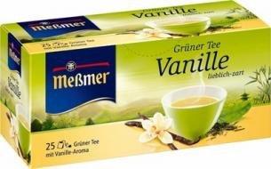 [Rossmann] Meßmer Teesorten Granatapfel, Grüner Tee, Orange Traube statt 1,49€
