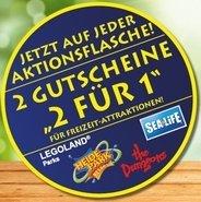 """Merlin Gutscheine """"2 für 1"""" für Heide Park/ Legoland/ Sea Life/ The Dungeons auf Hela Curry Gewürz Ketchup"""