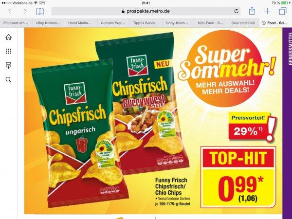 [Metro] Chipsfrisch Ungarisch und Currywurst