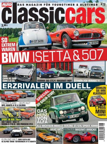 """Jahresabo """"Classic Cars"""" für 45,60€ mit 30,00€ Gutschein – Effektivpreis: 15,60€"""