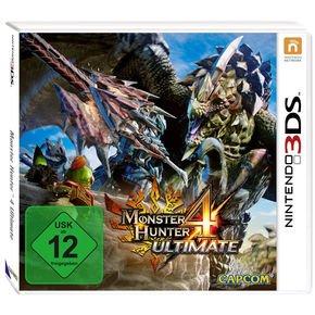 Monster Hunter 4 Ultimate 3DS für 20,98€ @notebooksbilliger.de