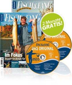 2 Monate gratis Fisch&Fang durch Newsletteranmeldung