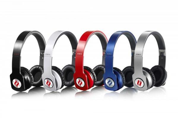 noontec Zoro Professional Kopfhörer - rot/schwarz/weiß/silber/blau - 37,95€ @ Rakuten/Poppstar