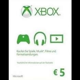 5€ Microsoft Gift Card für 3,79 EUR Xbox One/360 [cdkeys.com]
