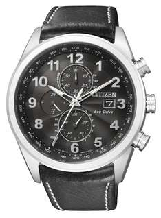 Citizen Herren-Armbanduhr XL Analog Quarz Leder AT8011-04E für 250.98 € @ Amazon