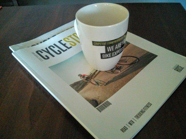 Gratis Tasse für Katalog Bestellung