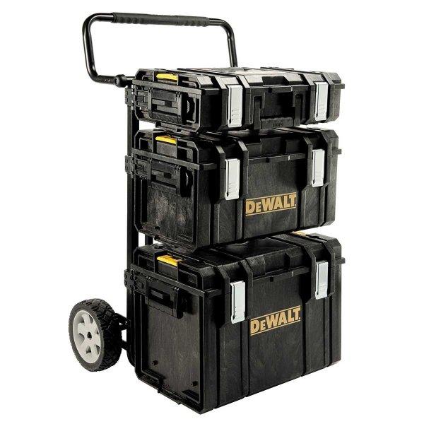 """[Handwerker-Deal] DeWalt Werkzeugtrolley """"Tough System 4in1"""" mit Schnellaufnahme-System für 234,85 € statt 274,00 €, @ZackZack"""