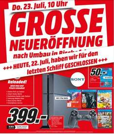 [Media Markt lokal Bischofsheim] PS4 + Driveclub, Last of Us, Little Big Planet 3 und GTA V
