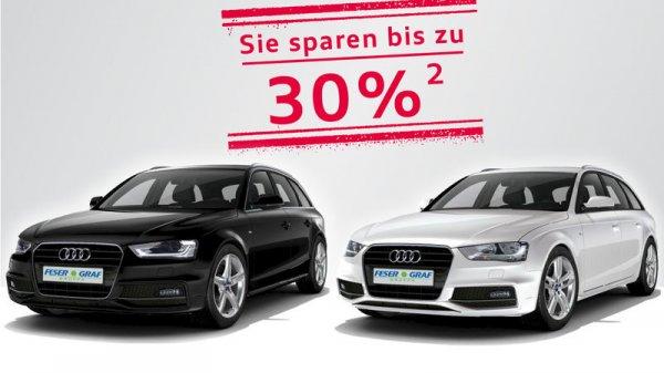 [Privatpersonen - Feser Graf Nürnberg/Fürth/Schwabach] Audi A4 Leasen, 36 Monate, 289€/Monat