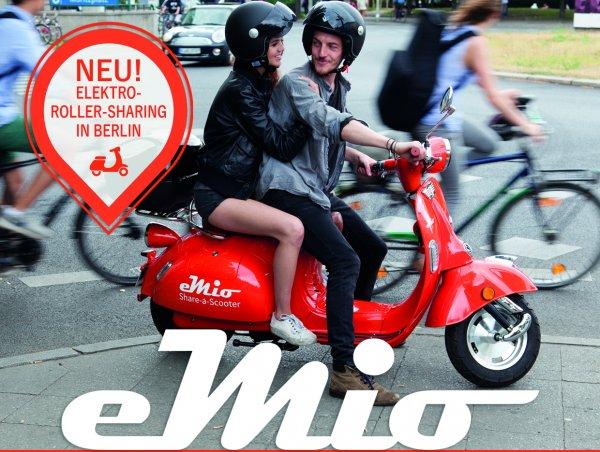 [BERLIN] Gratis eMIO Elektroroller Probe fahren