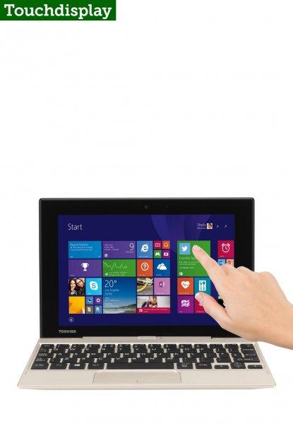 """Toshiba Satellite Click Mini + Tastatur Dock - 8,9"""" FHD IPS Touchscreen, Intel Z3735F (4x 1,33 GHz), 2 GB Ram, 5 MP Kamera, micro-HDMI, Win 8.1 für 239€ @Brands4friends"""