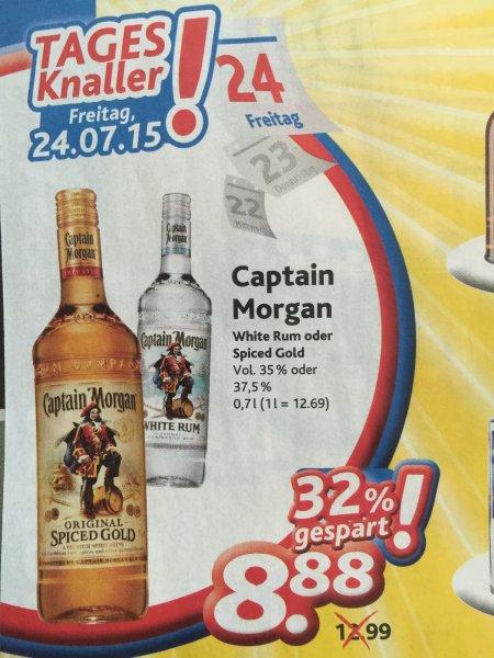 [Dursty] Captain Morgan Spiced Rum oder White Rum 8.88€
