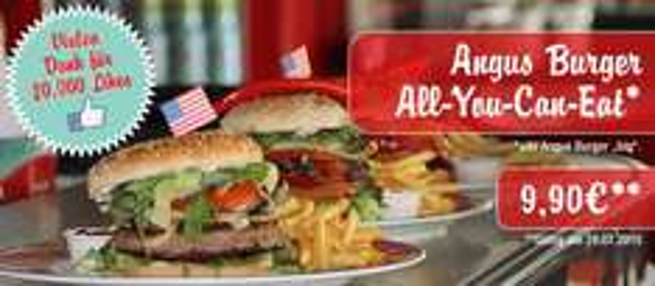 Miss Pepper Angus Burger - All You Can Eat, am 28.07 für nur 9,90€ bei