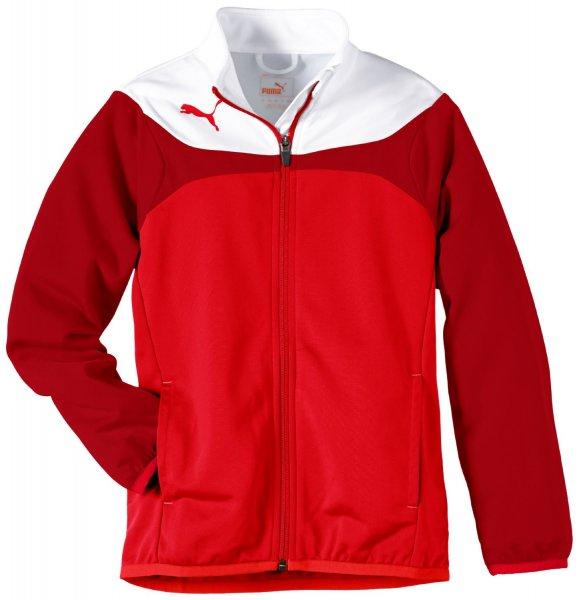 PUMA Kinder Jacke ESITO 3 Tricot Jacket / nur Größe 176 Farbe Red-White und Größen 164-176 in Royal-White zum Preis von 10,48 € zzgl. Lieferung / @Amazon (Prime)