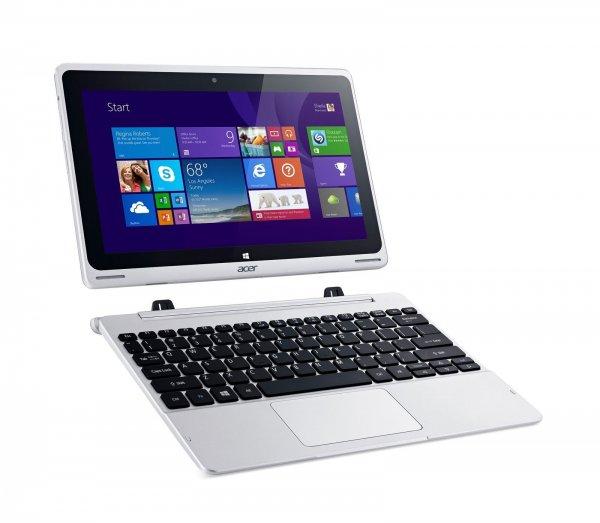 Acer Aspire Switch 10 FHD 64GB + KeyboardDock HDD (NT.L6HEG.004) - gutes,10'' kleines Convertible mit Windows 8.1 für 379 € [Cyberport@eBay]