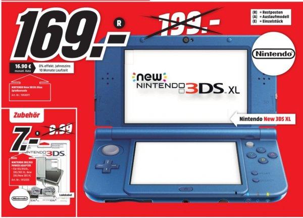 [Lokal Mediamarkt Porta Westfalica] Nintendo New 3DS XL metallic blau für 169,-€