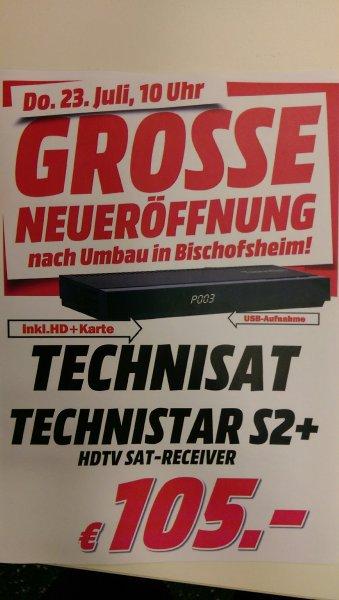 [Media Markt lokal Bischofsheim] Technisat Technistar S2+ HD+ Satreceiver