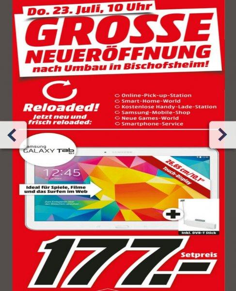 Samsung Galaxy Tab 4 10.1 + DVB-T Stick 177€ @MM Bischofsheim