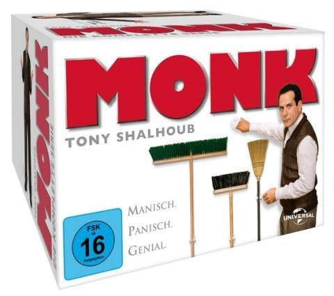 [Saturn] Monk Komplettbox (32 DVDs) für 38,99€ inkl. Versand