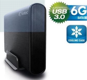 DB-AluSky U3-6G Festplattengehäuse von Fantec USB 3.0 Ext. für 0,95 EUR + 8 EUR Versand