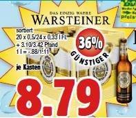 [lokal Witten] Kasten Warsteiner im boni-Center für 8,79 € (zzgl. Pfand)