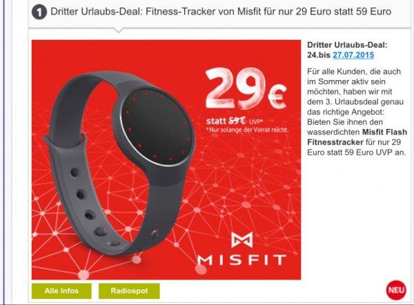 Misfit Flash Fitnesstracker Onyx [vodafone]
