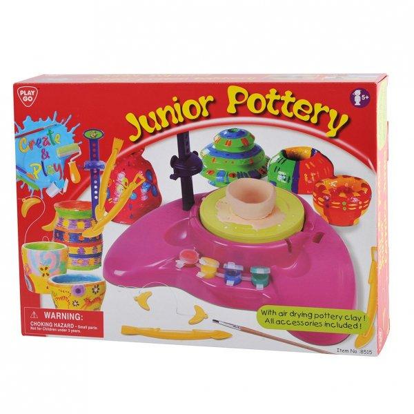 """[Amazon-Prime]""""Junior Pottery""""  Spiel-Töpferscheibe batteriebetrieben"""