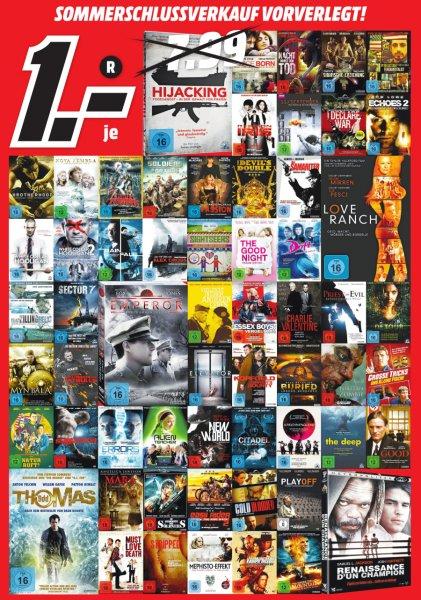 [Lokal MediaMarkt Frankfurt-Borsigallee] Viele DVD's für je 1€