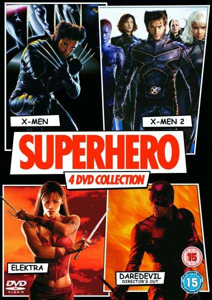 X-Men / X-Men 2 / Daredevil / Elektra (DVD) (OT) für 3,99€ @Zavvi.com
