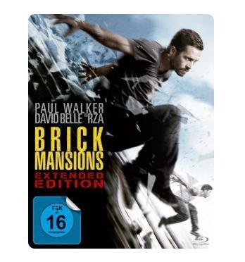 Brick Mansions (Extended Edition) (Steelbook) (Blu-ray) für 9,99€ @Müller