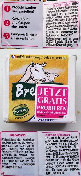 Käse gratis probieren - ohne Scham - ohne Begründung