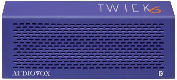 [amazon.de] Audiovox Twiek 6 Bluetooth Stereo Lautsprecher in blau für 19,99€ / Preisvergleich ab 29,80€