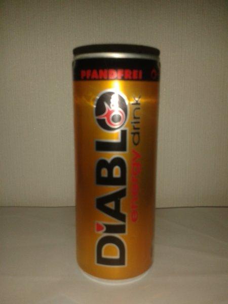 [kik] (Lokal?) Diablo Energy Drink für 0,29 Cent ohne Pfand