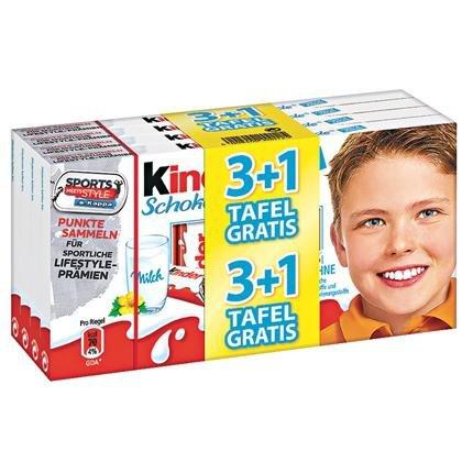 Kinderschokolade oder Yogurette - 4x 125g für 2,75€ [lokal Kaufland BW/BY]