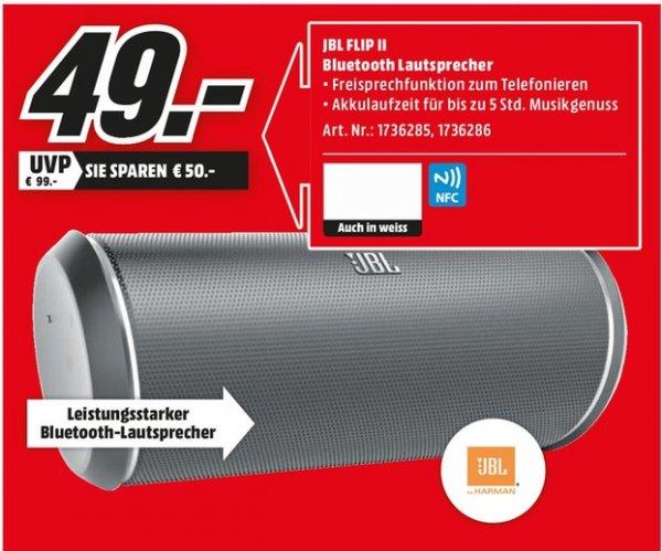 [Lokal Bischofsheim] Media Markt: JBL FLIP II für 49,00 Euro